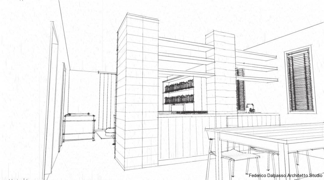 Ristrutturazione appartamento mestre federico dalpasso - Idea casa biancheria mestre ...